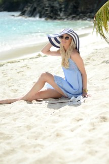 Powder Blue Sundress - Mckenna Bleu