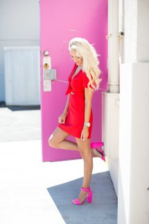 Red Pink Summer