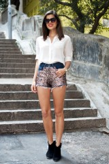 diy sequin shorts by a pair & a spare
