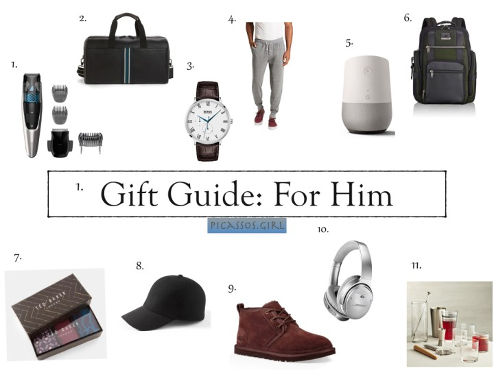 Gift Guide: Gifts For Him