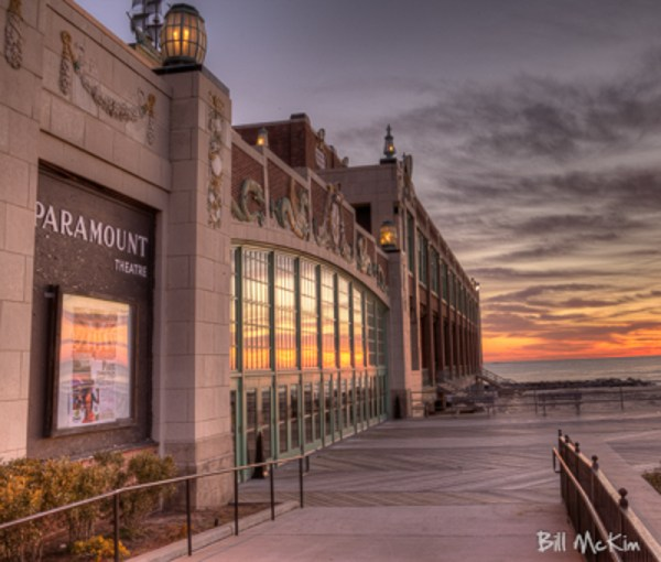 Asbury Park bruce springsteen convention hall photograph