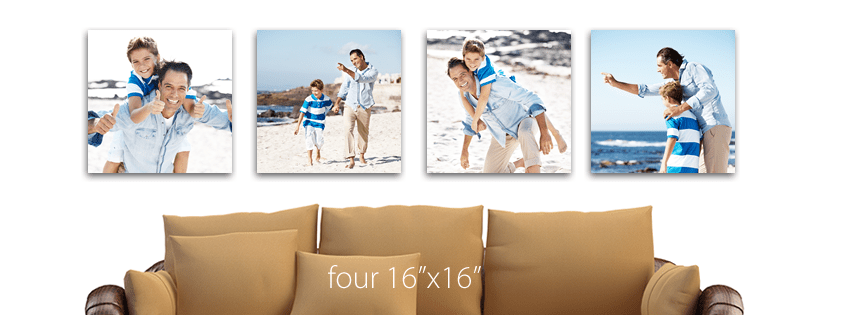 canvas prints for your home beach photo session