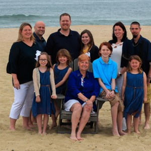 Belmar beach photo session