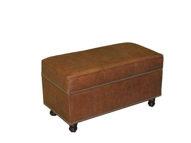 custom storage ottoman