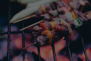 Kabob on barbeque - Kabob-on-barbeque