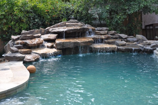 Water Feature Pearland Friendswood Waterfalls