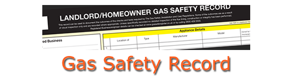 Gas Safety Certificate / Record