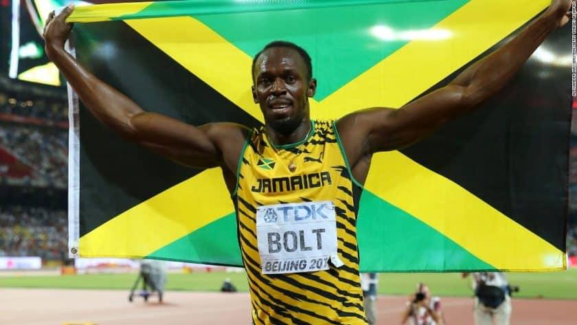Statue Honoring Usain Bolt