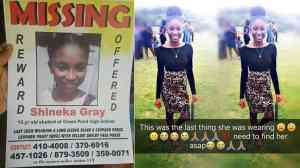 MISSING ST. JAMES TEEN MAY HAVE BEEN RAPED, AND STABBED TO DEATH