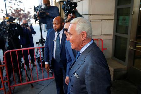 U.S. judge faults ex-Trump adviser Stone's book that may violate gag order