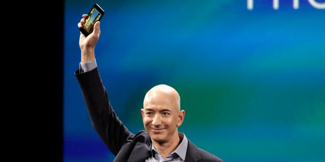 Amazon might have quietly dropped a huge hint that it wants to 're-enter the phone market' (AMZN)