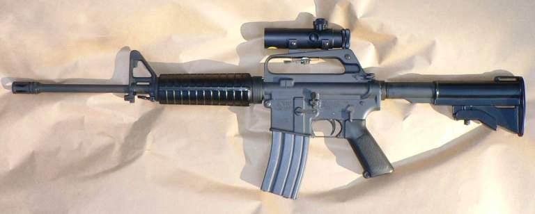 Colt AR-15 Assault Rifle Seized in Cambridge