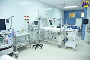 Children Treated at New Paediatric Cardiac Unit at Bustamante Hospital