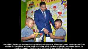 Prime Minister Visits Five-Year-Old Letter Writer