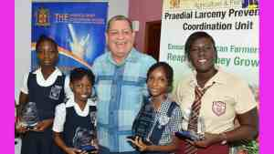 Agriculture Minister Commends Winners of PLPU Competition