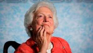 Barbara Bush Dies; Former First Lady was 92