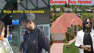 Buju Banton Touch Down In Grenada | Govana Buy House | Rygin King And Squash Show Unity
