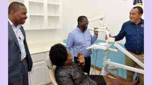 Kitson Town Gets Upgraded Health Centre