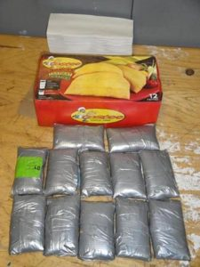 US$70,000 worth of coke in Patties: in Jamaican Woman's suitcase