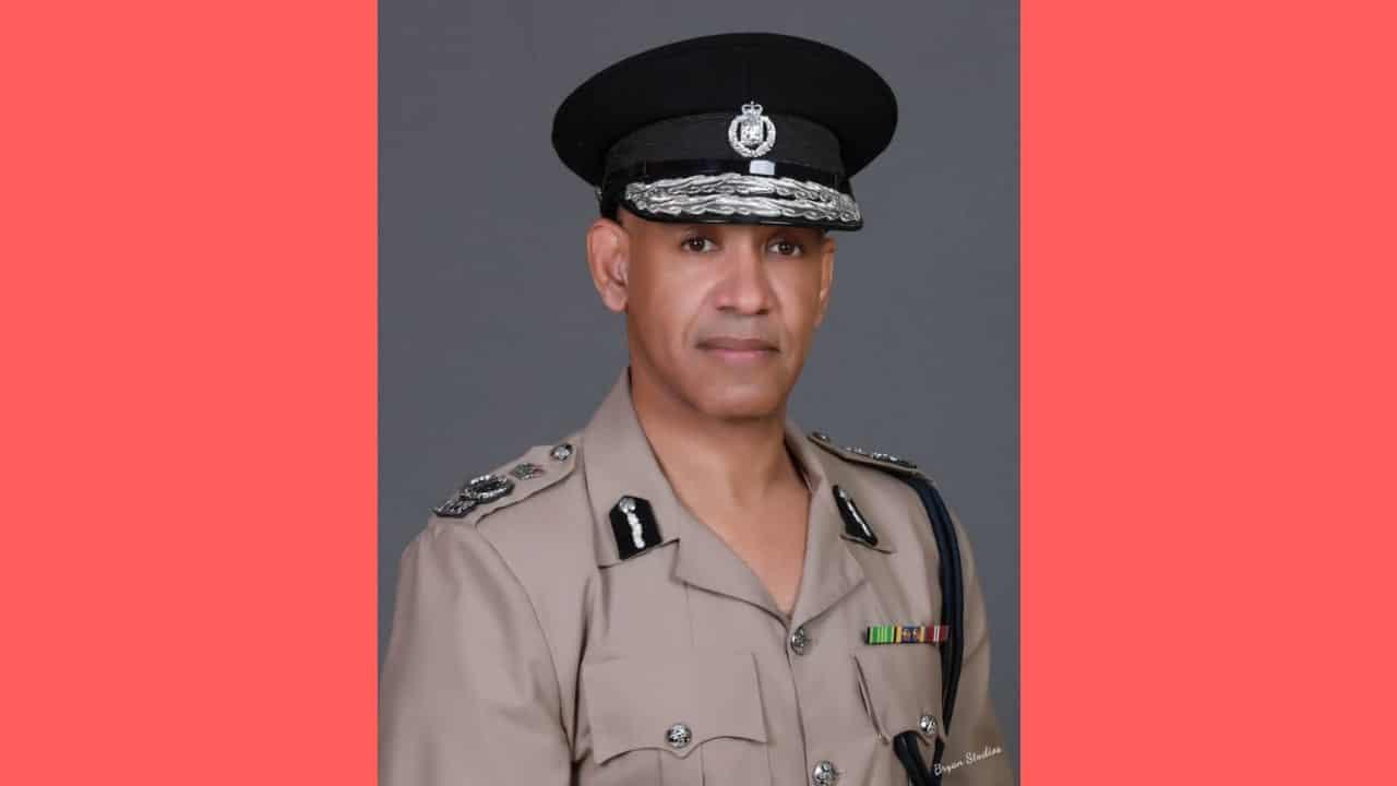 Commissioner of Police, Major General Antony Anderson