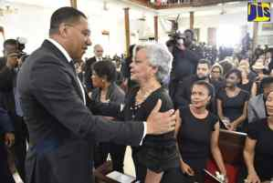 Jamaicans Pay Final Respects To Dr. Baugh