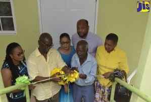 Houses Handed over to Elderly Indigent Men in St. Ann