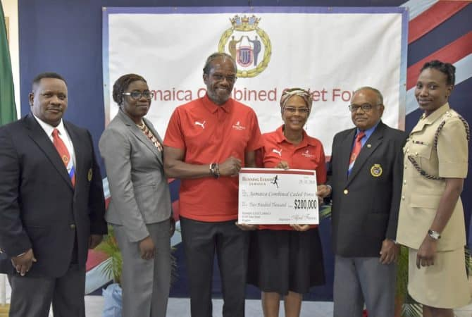 JCCF/Running Events Limited Partnership Lauded