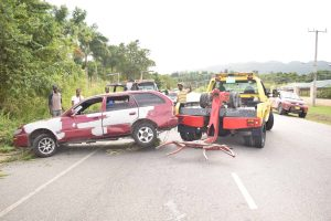 Video: Accident Along Fairfield Road in Montego Bay