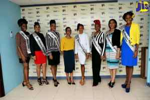 PHOTOS: JCDC Festival Queen Contestants Visits JIS Regional Office