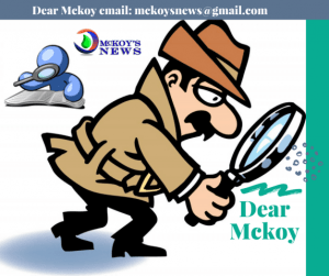 Dear Mckoy © – Where Readers Ask Mckoy Anything!