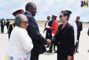 PHOTOS: President of the Republic of Kenya Departs Jamaica