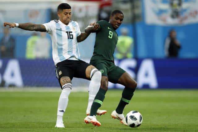 Did Argentina get away with a handball against Nigeria?