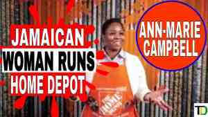Did you know that a JAMAICAN is HEAD of HOME DEPOT?