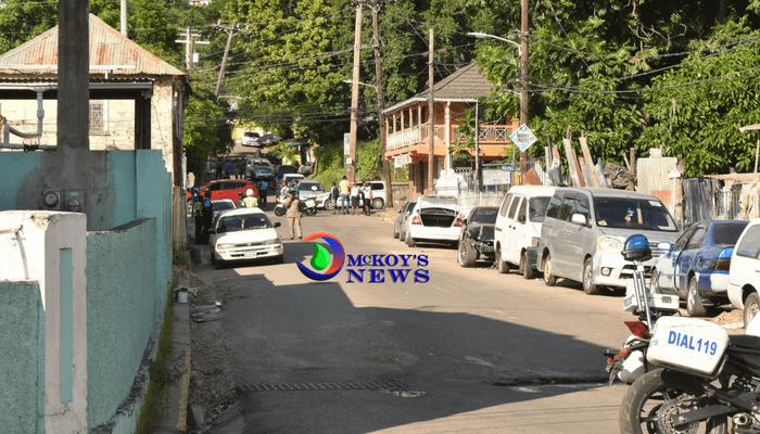 Man Shot Dead on East Street