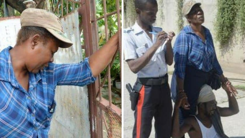 Elderly Man Swept Away