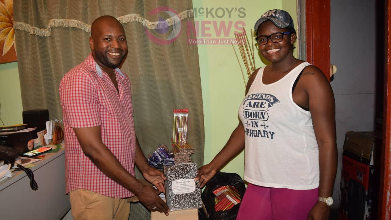 Eva Bless Clothing Donates