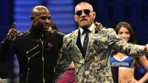 Conor McGregor Praises Floyd Mayweather