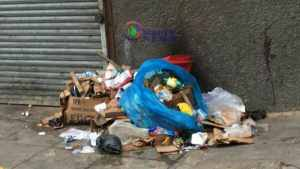 Montego Bay Business Owners Complain of Garbage Pile-up