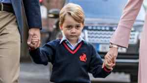 Prince George's first day of school outfit is giving us so much fall style inspo
