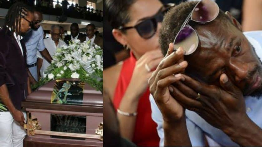 Germaine Mason's funeral service