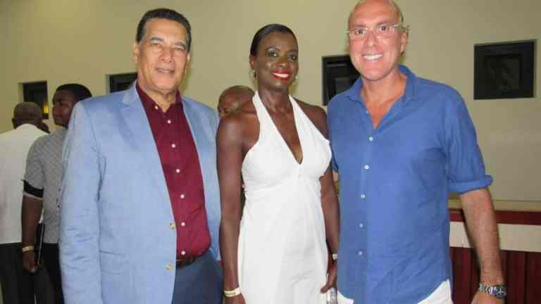 His Worship, the Mayor of Montego Bay Homer Davis and his wife, Dr. Grant-Davis