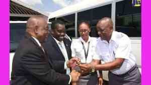 Transport Authority Gets Buses for Staff