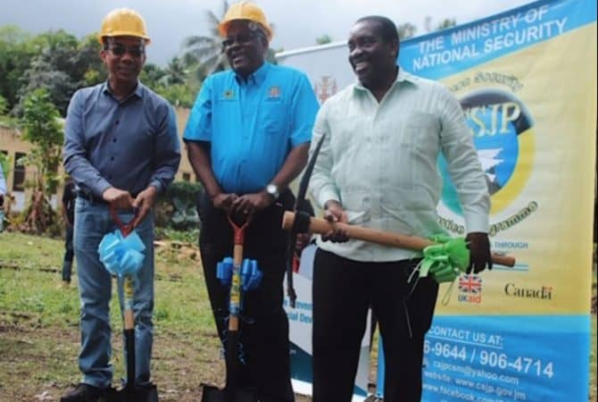 CSJP Lauded for Gayle Multi-purpose Centre Project
