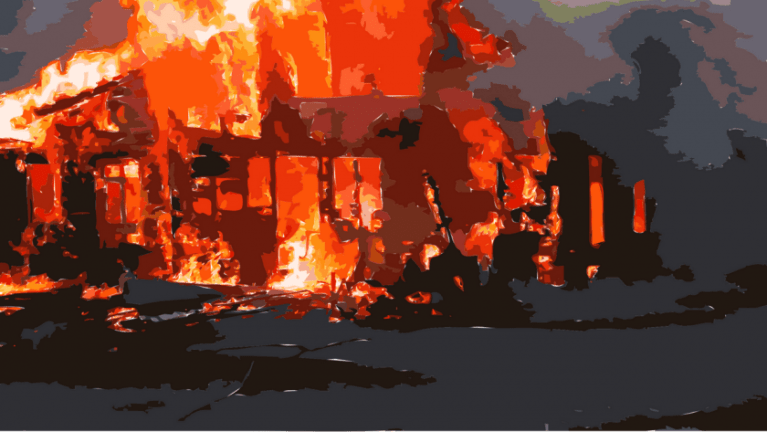 1-Year-Old Child Perish in Central Village Fire