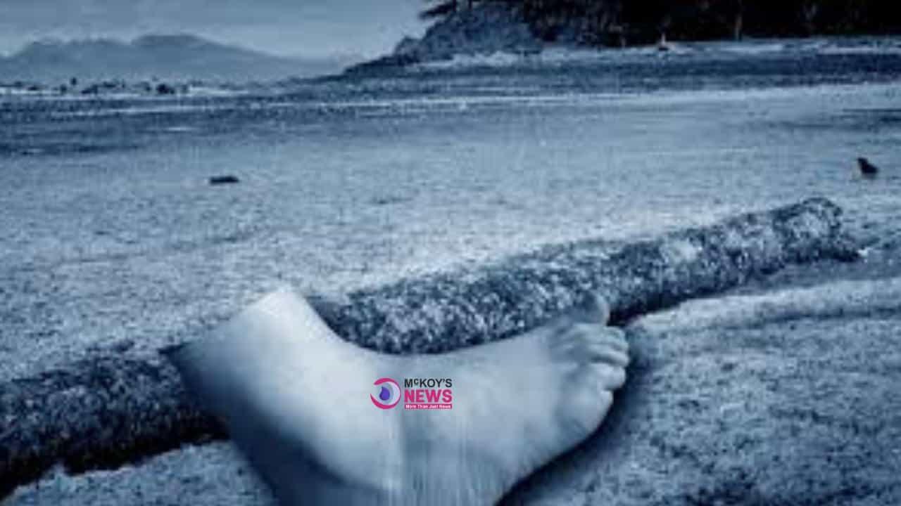 Black River Police Seeking Help to Identify Human Foot Found at Sea