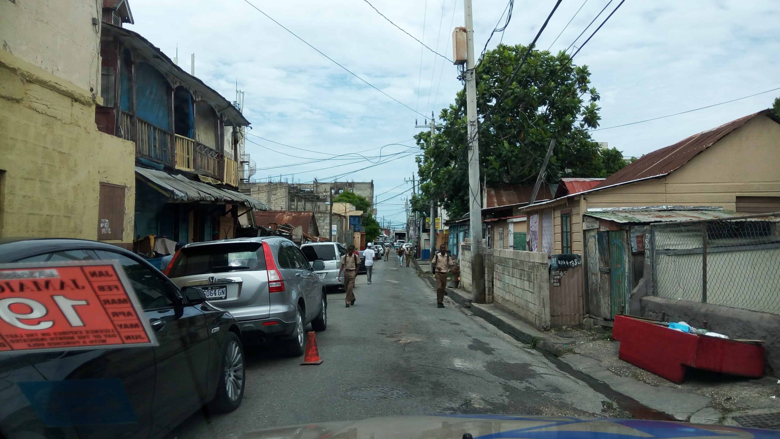 Gunmen Shoot up Hart Street, Montego Bay