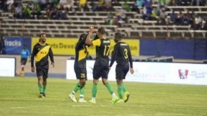 Jamaica All Stars defeated the Brazil All Stars 2 -1
