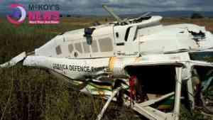 Jamaica Defence Force Helicopter Crashes in Portmore, St Catherine