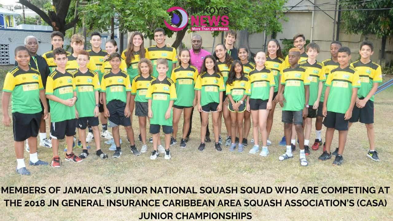 Caribbean Junior Squash Champs