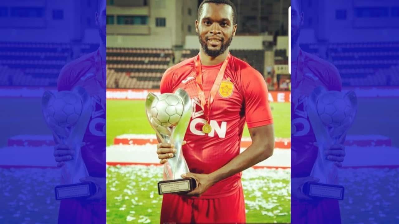 Jamaican Football Star Brian Brown